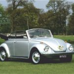 VW Beetle Wedding Car Yorkshire