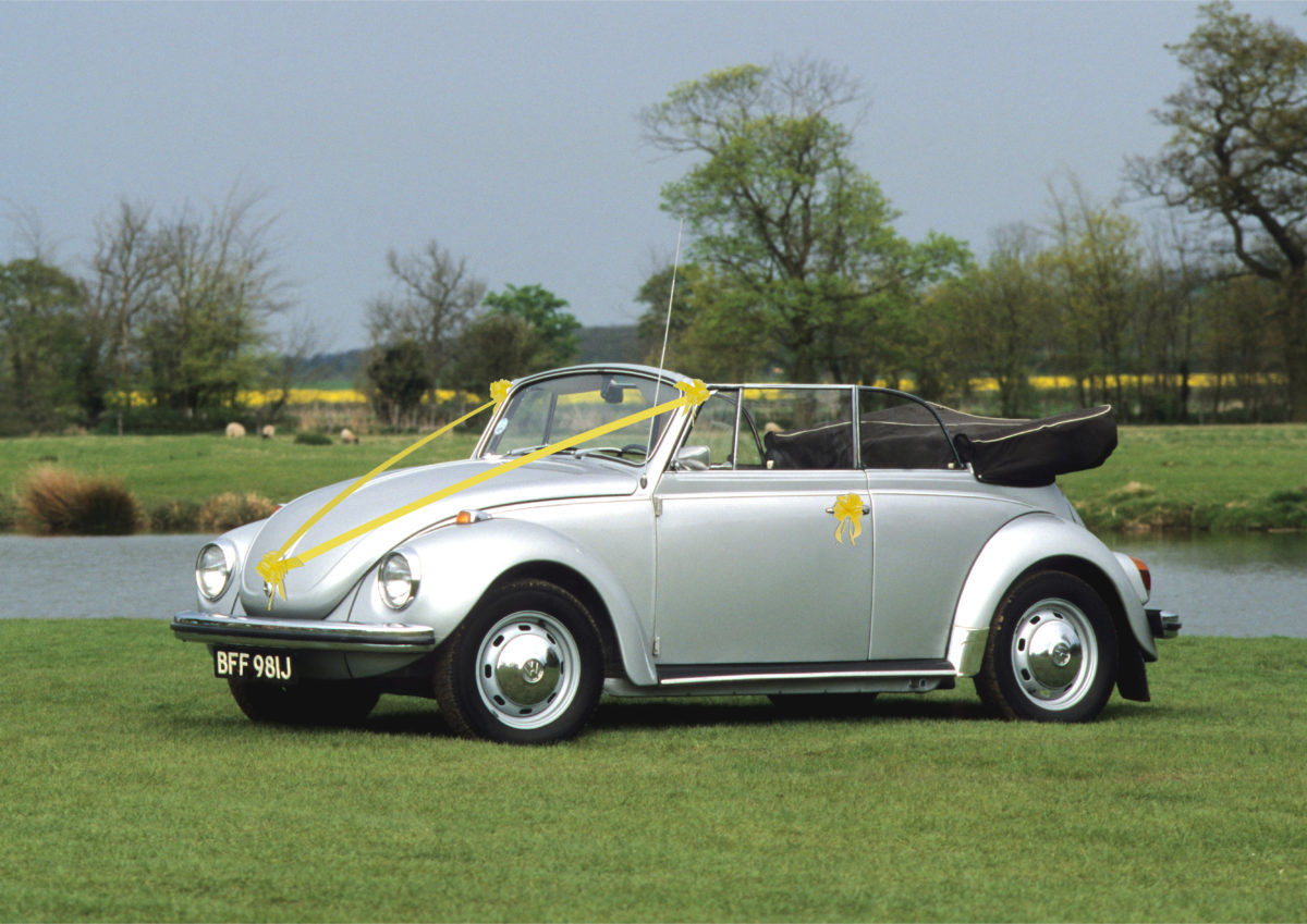 VW Beetle Convertible, Wedding Car Hire Huddersfield West Yorkshire